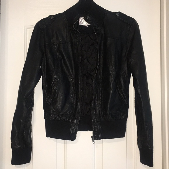 Xhilaration Jackets & Blazers - Black Bomber Jacket